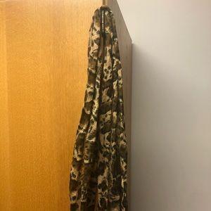 Leopard Print Scarf/ Head Tie